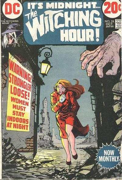 Witching Hour #24 comic books - cover scans photos Witching Hour #24 comic books - covers, picture gallery