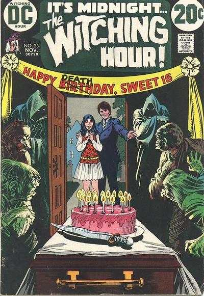 Witching Hour #25 comic books - cover scans photos Witching Hour #25 comic books - covers, picture gallery