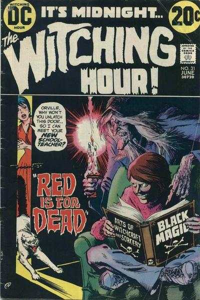 Witching Hour #31 comic books - cover scans photos Witching Hour #31 comic books - covers, picture gallery