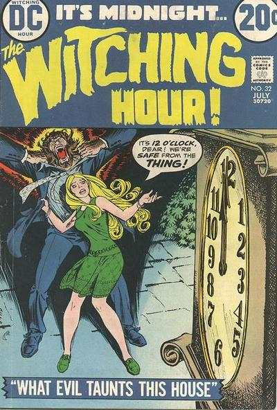 Witching Hour #32 comic books - cover scans photos Witching Hour #32 comic books - covers, picture gallery