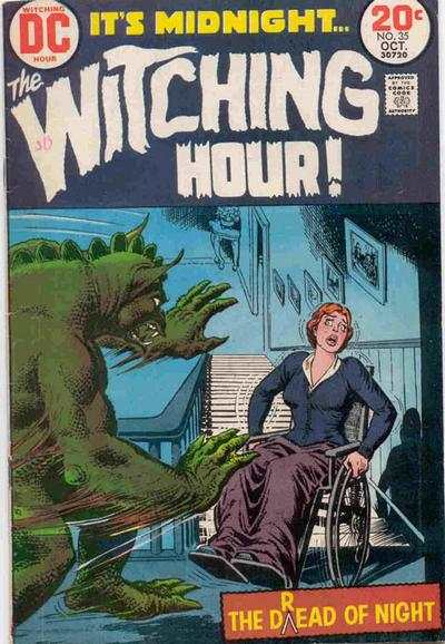 Witching Hour #35 comic books - cover scans photos Witching Hour #35 comic books - covers, picture gallery