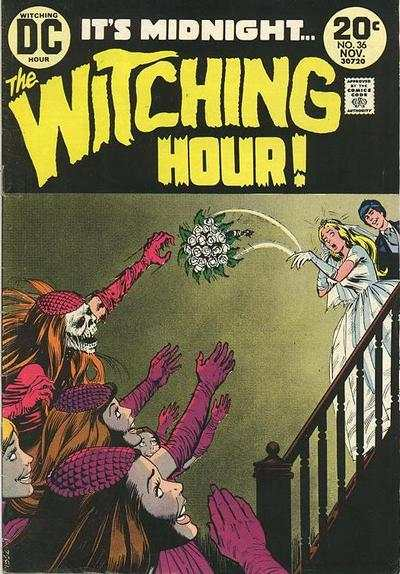 Witching Hour #36 comic books - cover scans photos Witching Hour #36 comic books - covers, picture gallery