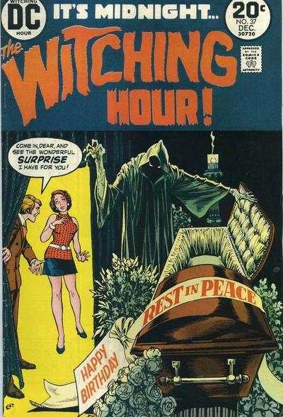 Witching Hour #37 comic books - cover scans photos Witching Hour #37 comic books - covers, picture gallery
