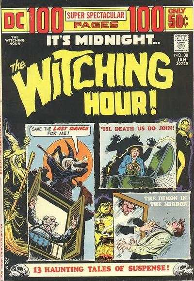 Witching Hour #38 comic books - cover scans photos Witching Hour #38 comic books - covers, picture gallery