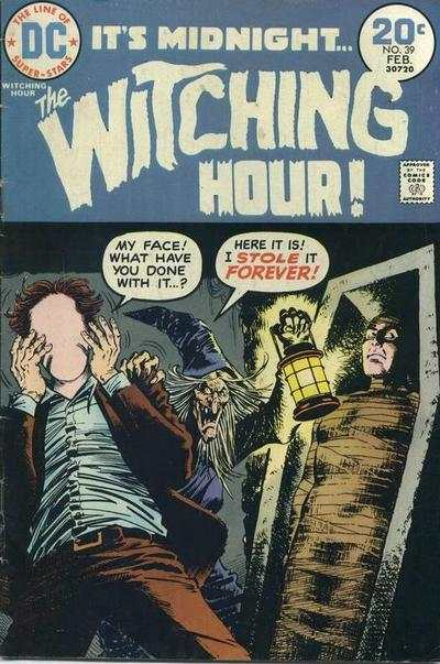 Witching Hour #39 comic books - cover scans photos Witching Hour #39 comic books - covers, picture gallery