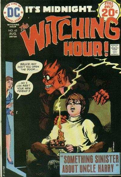 Witching Hour #45 comic books - cover scans photos Witching Hour #45 comic books - covers, picture gallery