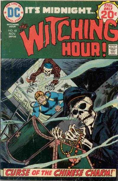 Witching Hour #48 comic books - cover scans photos Witching Hour #48 comic books - covers, picture gallery