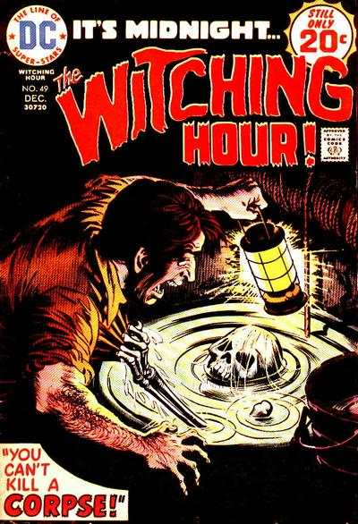 Witching Hour #49 comic books - cover scans photos Witching Hour #49 comic books - covers, picture gallery