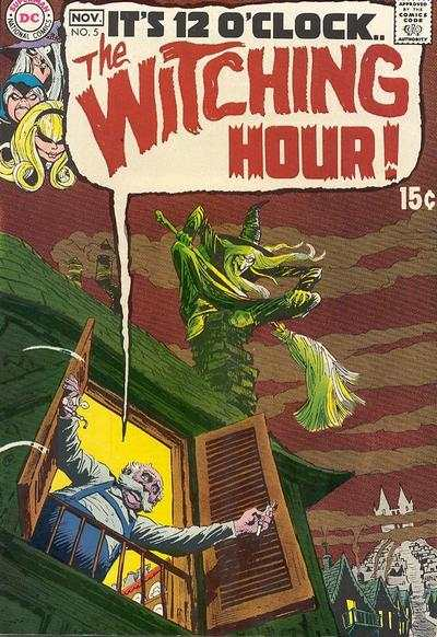 Witching Hour #5 comic books - cover scans photos Witching Hour #5 comic books - covers, picture gallery