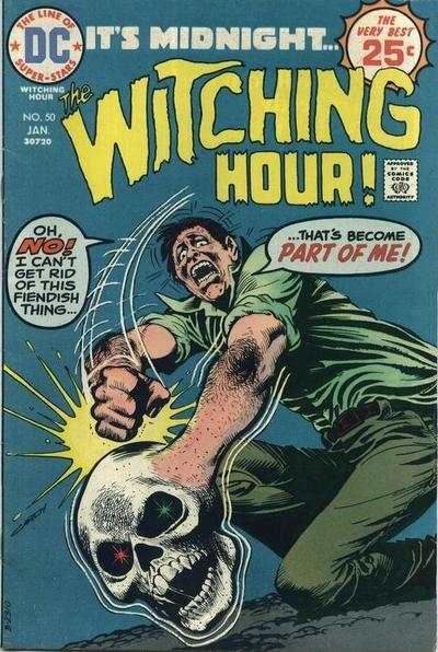 Witching Hour #50 comic books - cover scans photos Witching Hour #50 comic books - covers, picture gallery