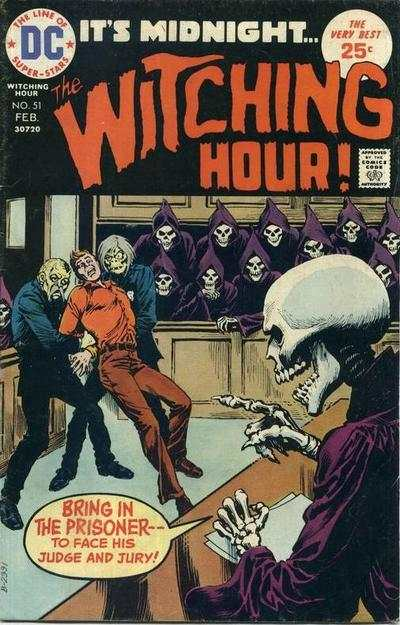 Witching Hour #51 comic books - cover scans photos Witching Hour #51 comic books - covers, picture gallery