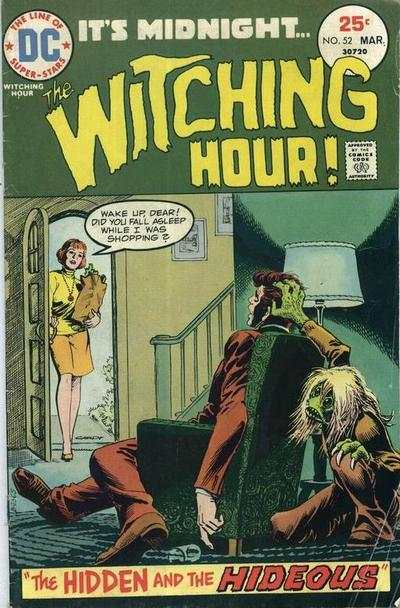 Witching Hour #52 Comic Books - Covers, Scans, Photos  in Witching Hour Comic Books - Covers, Scans, Gallery