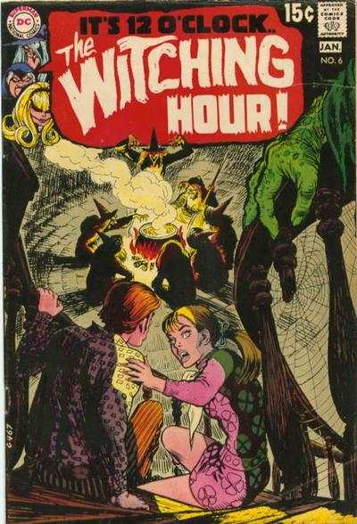 Witching Hour #6 comic books - cover scans photos Witching Hour #6 comic books - covers, picture gallery
