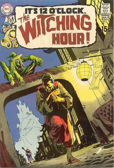 Witching Hour #9 comic books - cover scans photos Witching Hour #9 comic books - covers, picture gallery