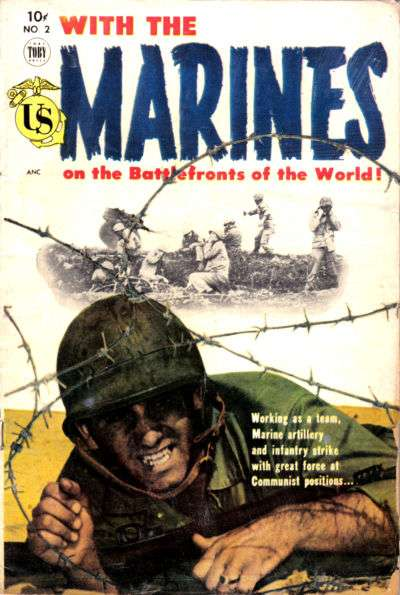 With the Marines #2 comic books for sale