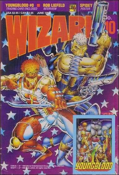 Wizard Magazine #10 comic books for sale