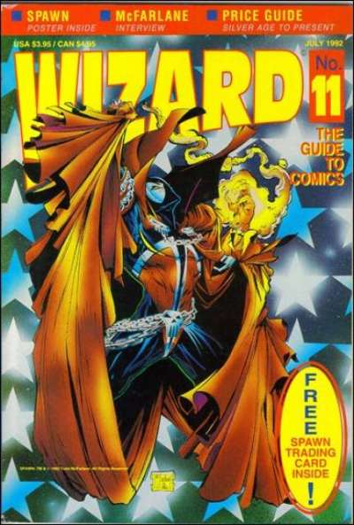 Wizard Magazine #11 comic books for sale