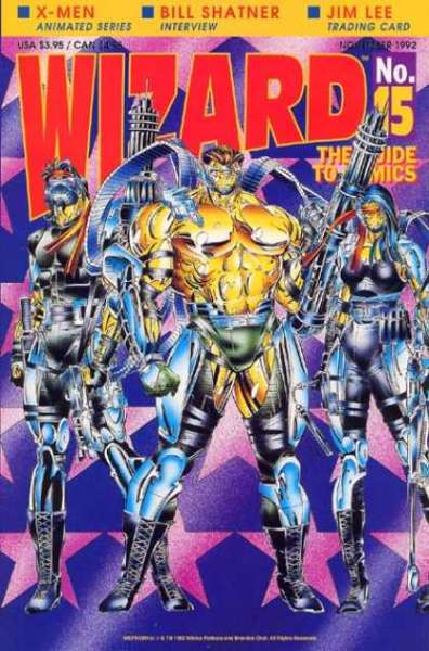 Wizard Magazine #15 comic books for sale
