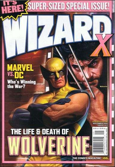 Wizard Magazine #155 comic books for sale