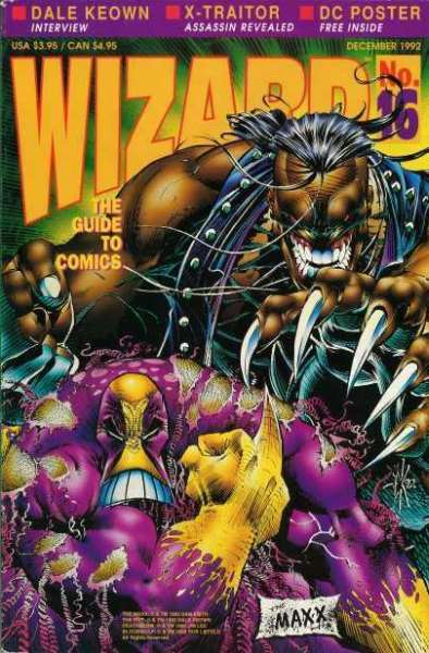 Wizard Magazine #16 Comic Books - Covers, Scans, Photos  in Wizard Magazine Comic Books - Covers, Scans, Gallery