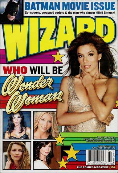 Wizard Magazine #164 comic books for sale