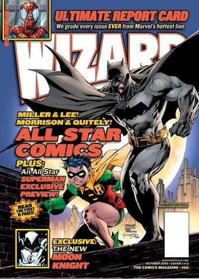 Wizard Magazine #168 comic books for sale