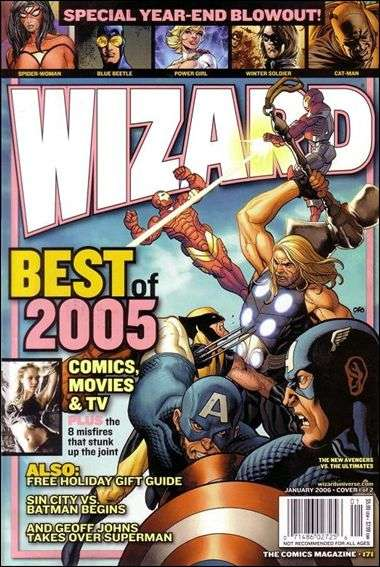 Wizard Magazine #171 comic books for sale