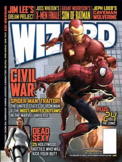 Wizard Magazine #182 comic books for sale