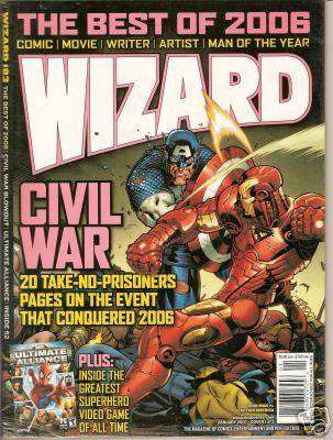 Wizard Magazine #183 comic books for sale