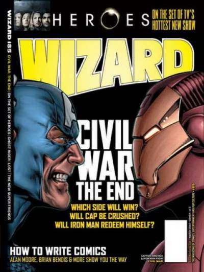 Wizard Magazine #185 comic books for sale