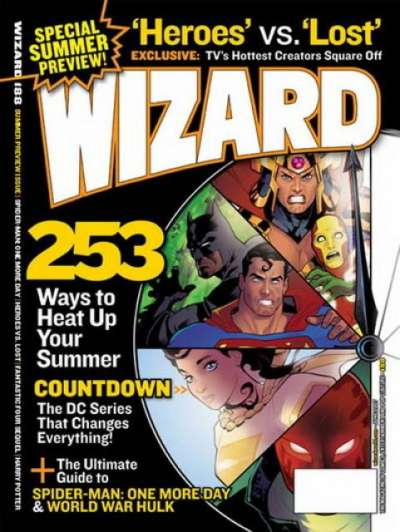 Wizard Magazine #188 comic books for sale