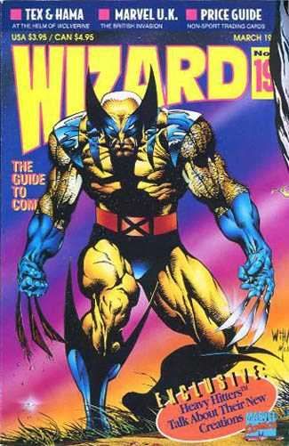 Wizard Magazine #19 Comic Books - Covers, Scans, Photos  in Wizard Magazine Comic Books - Covers, Scans, Gallery