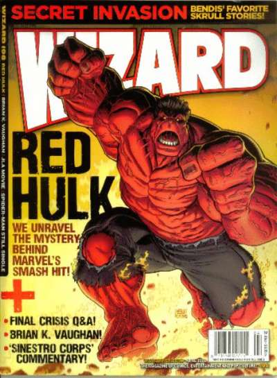Wizard Magazine #198 comic books for sale
