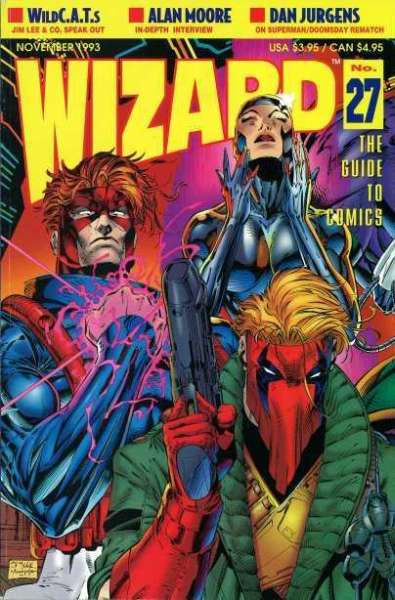Wizard Magazine #27 comic books for sale