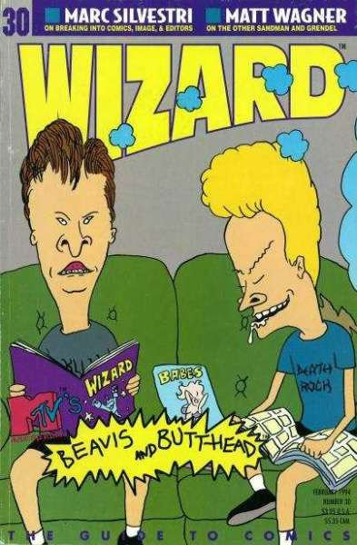 Wizard Magazine #30 comic books for sale