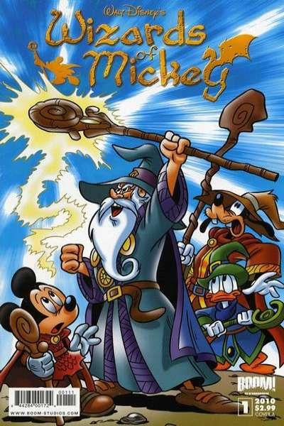 Wizards of Mickey comic books
