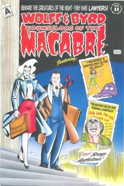 Wolff & Byrd: Counselors of the Macabre #11 Comic Books - Covers, Scans, Photos  in Wolff & Byrd: Counselors of the Macabre Comic Books - Covers, Scans, Gallery