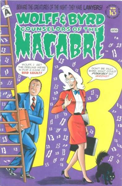 Wolff & Byrd: Counselors of the Macabre #13 comic books for sale