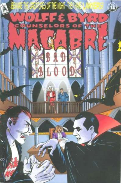 Wolff & Byrd: Counselors of the Macabre #14 comic books - cover scans photos Wolff & Byrd: Counselors of the Macabre #14 comic books - covers, picture gallery