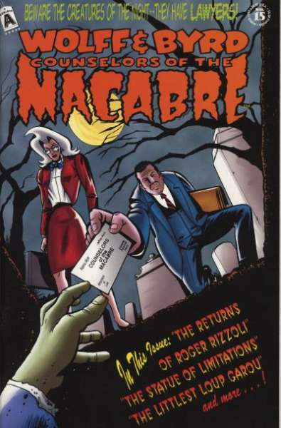Wolff & Byrd: Counselors of the Macabre #15 Comic Books - Covers, Scans, Photos  in Wolff & Byrd: Counselors of the Macabre Comic Books - Covers, Scans, Gallery