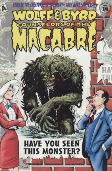 Wolff & Byrd: Counselors of the Macabre #16 Comic Books - Covers, Scans, Photos  in Wolff & Byrd: Counselors of the Macabre Comic Books - Covers, Scans, Gallery