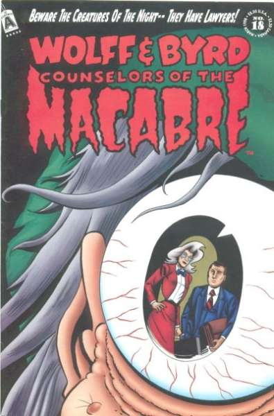 Wolff & Byrd: Counselors of the Macabre #18 comic books for sale