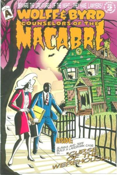 Wolff & Byrd: Counselors of the Macabre #2 comic books - cover scans photos Wolff & Byrd: Counselors of the Macabre #2 comic books - covers, picture gallery