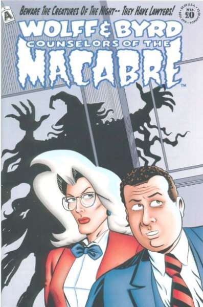 Wolff & Byrd: Counselors of the Macabre #20 Comic Books - Covers, Scans, Photos  in Wolff & Byrd: Counselors of the Macabre Comic Books - Covers, Scans, Gallery