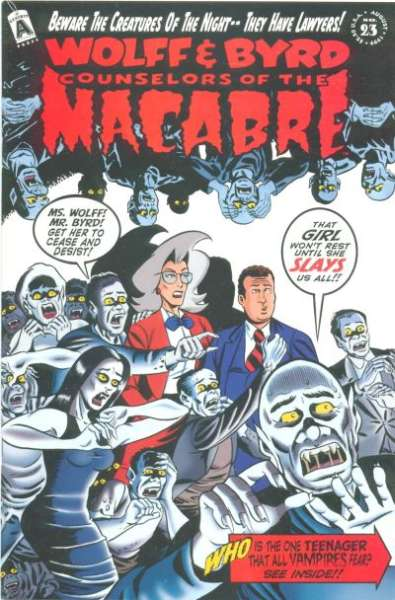 Wolff & Byrd: Counselors of the Macabre #23 Comic Books - Covers, Scans, Photos  in Wolff & Byrd: Counselors of the Macabre Comic Books - Covers, Scans, Gallery