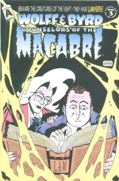 Wolff & Byrd: Counselors of the Macabre #3 comic books for sale