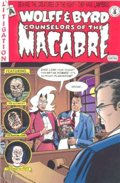 Wolff & Byrd: Counselors of the Macabre #4 comic books - cover scans photos Wolff & Byrd: Counselors of the Macabre #4 comic books - covers, picture gallery