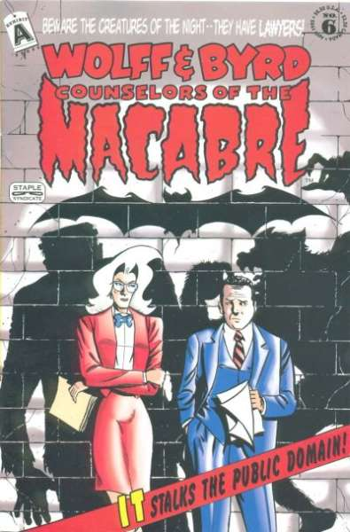 Wolff & Byrd: Counselors of the Macabre #6 comic books for sale