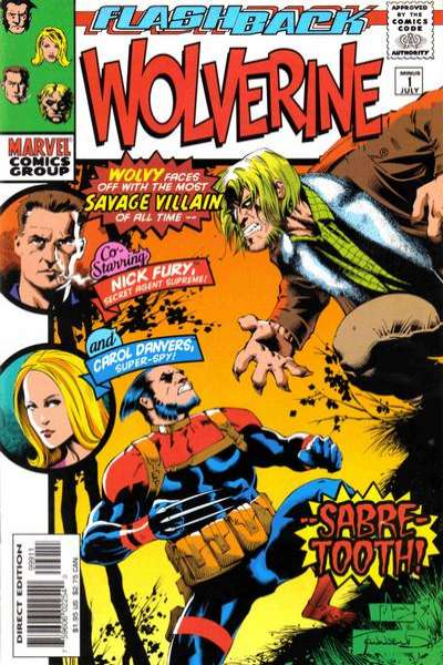 Wolverine #-1 comic books - cover scans photos Wolverine #-1 comic books - covers, picture gallery