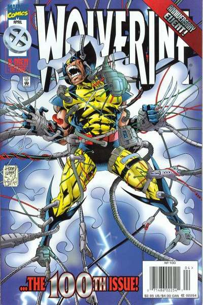 Wolverine #100 Comic Books - Covers, Scans, Photos  in Wolverine Comic Books - Covers, Scans, Gallery
